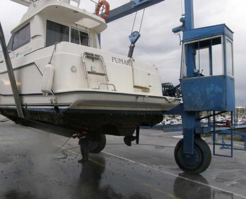 Invernaje de embarcaciones