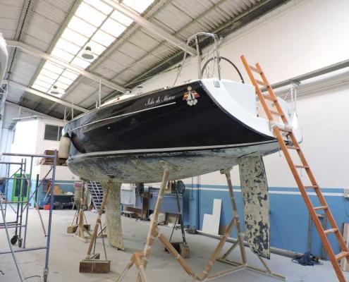 Taller de reparacion de embarcaciones en Cantabria